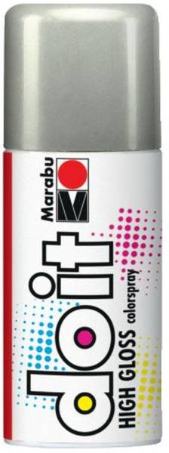 MARABU Colorspray do it high gloss 150ml silber 21073 006 482