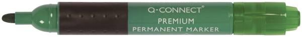 Q-CONNECT Permanentmarker 3mm grün KF26108 Rundspitze