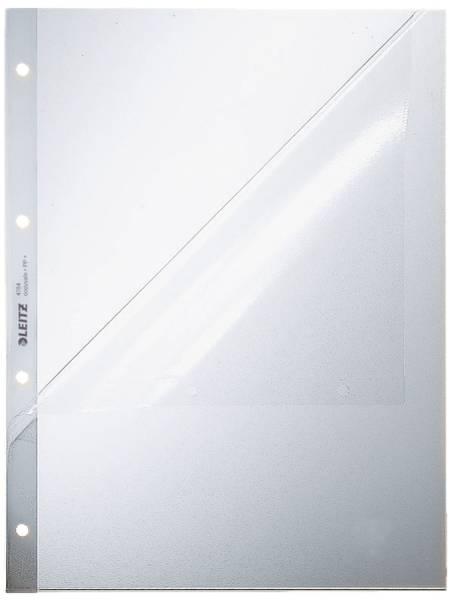 4784 Prospekthüllen, oben und Lochseite offen Oberteil mitgelocht, genarbt 0,13 mm, A4