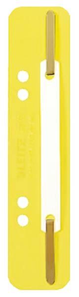 3710 Einhänge Heftstreifen PP, kurz gelb, 25 Stück