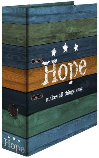 HERMA Ordner A4/70mm Woody 7184 Hope