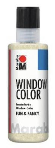 Window Color fun&fancy, Glitter Gold 584, 80 ml