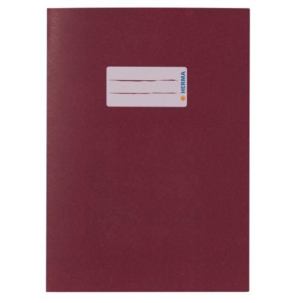HERMA Heftschoner A5 UWF weinrot 7018 Papier