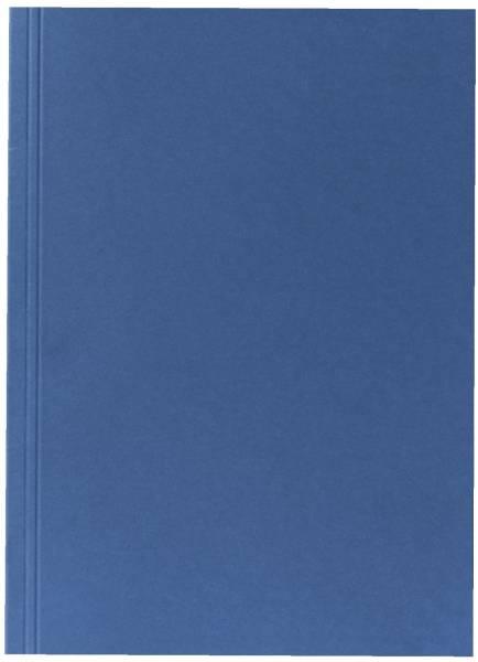 Aktendeckel A4 blau, Manilakarton 250 g qm