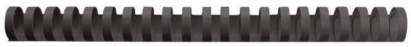GBC Spiralbinderücken 16mm/145Bl schwarz 4028600 A4 PVC 100ST