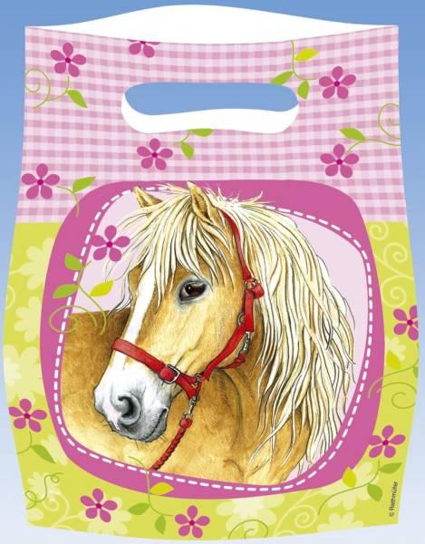 RIETHMÜLLER Partytüte Pferde 551263 6St