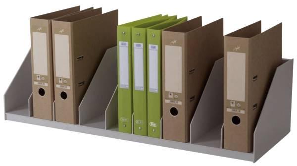 Belegfach fest für Rolladenschrank easyOffice grau