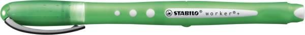 STABILO Tintenroller Worker grün 2019/36 0,5mm
