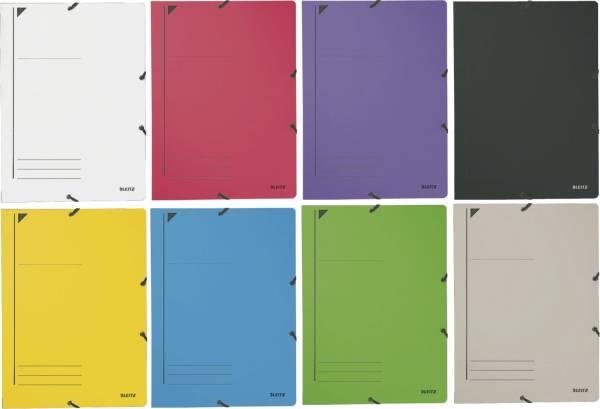 3980 Eckspanner, A4, Füllhöhe 250 Blatt, Colorspankarton, sortiert