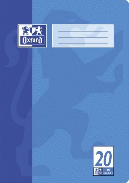 Heft A4 16 Blatt Lineatur 20