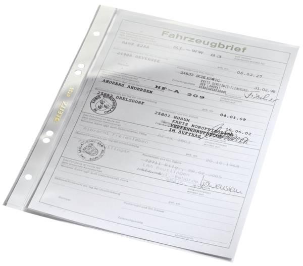 4735 Prospekthülle Super Premium, A5, PVC, dokumentenecht, glasklar