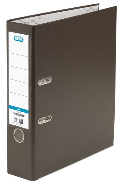 Ordner smart Pro (PP Papier) A4, 80 mm, braun