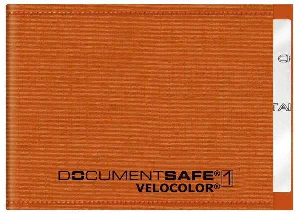 VELOCOLOR Kreditkartenetui Documentsafe orange 3271 330 PP 90x63mm