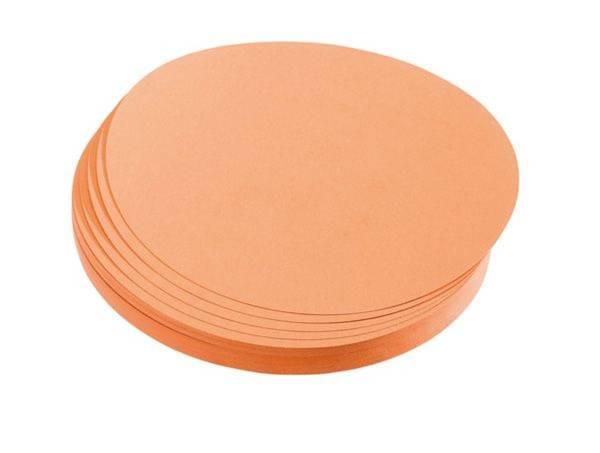 FRANKEN Moderationskarte 500ST orange UMZ2005 19 mm