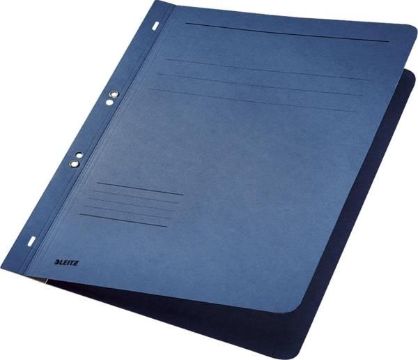 3742 Ösenhefter, 1 1 Vorderdeckel, A4, kfm oder Amtsheftung, Manilakarton, blau