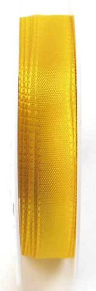 Basic Taftband 15 mm x 50 m, gelb