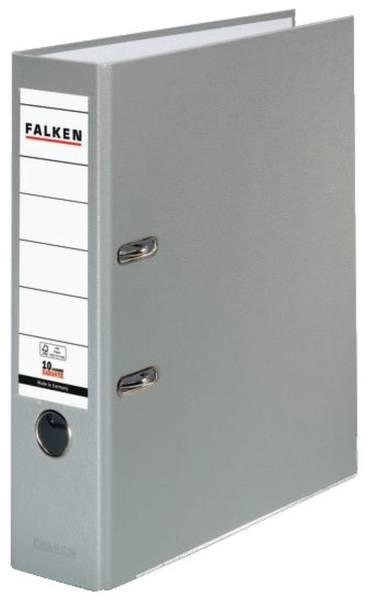 FALKEN Ordner S80 8cm grau 9984022 PP-Color