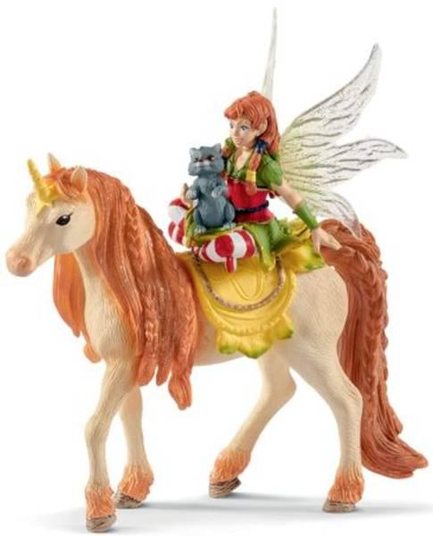 SCHLEICH Spielzeugfigur Marween m. Einhorn 70567