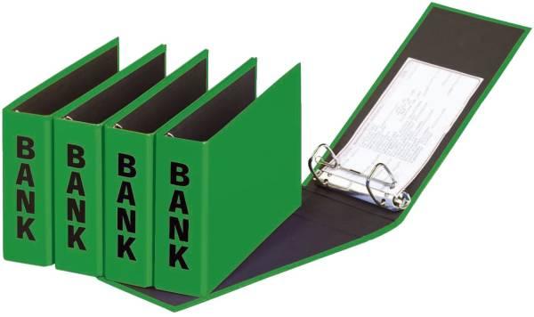 PAGNA Bankordner 25x14cm grün 40801-05 Basic Colours