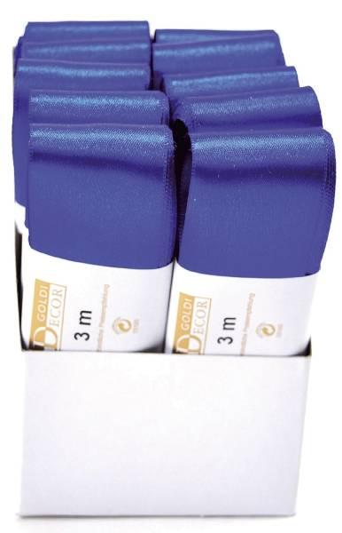 Doppelsatinband 40 mm x 3 m, kornblau