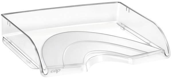 Briefkorb quer Pro A4 C4, glasklar