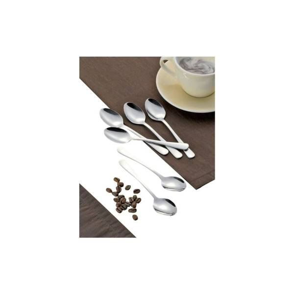 Besteck Kaffeelöffel chrom 56-120/156-004 12ST