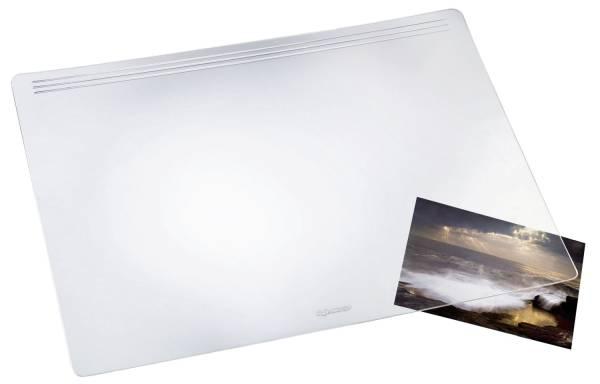 Schreibunterlage MATTON 70 x 50 cm, transparent glasklar