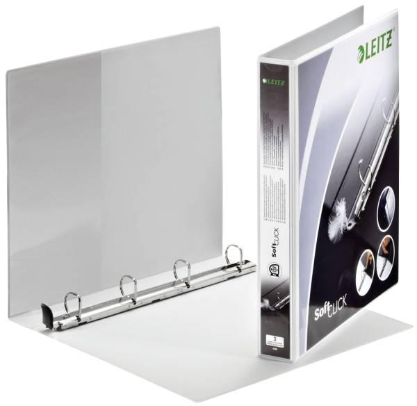 LEITZ Präsentationsringbuch A4 weiß 4200 00 01 20mm 4R