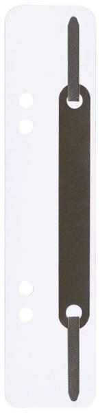 Q-CONNECT Heftstreifen RC 34x150mm 25ST weiß 4012000013 Metalldeckleiste