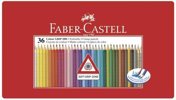 Buntstift Colour GRIP 36 Farben, Metalletui