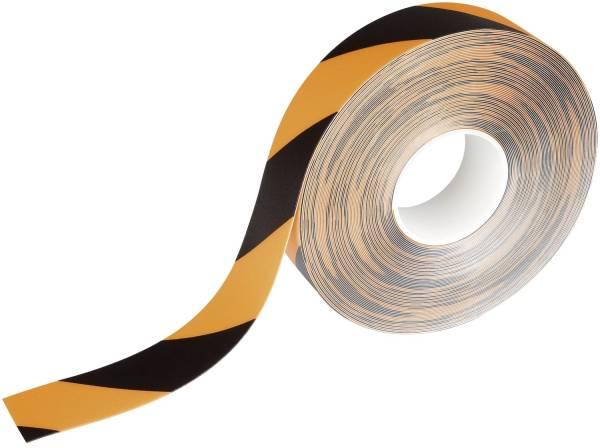 DURABLE Warnmarkierungsband 50mm x30m ge/sw 1726 130 DURALINE 2 Colour