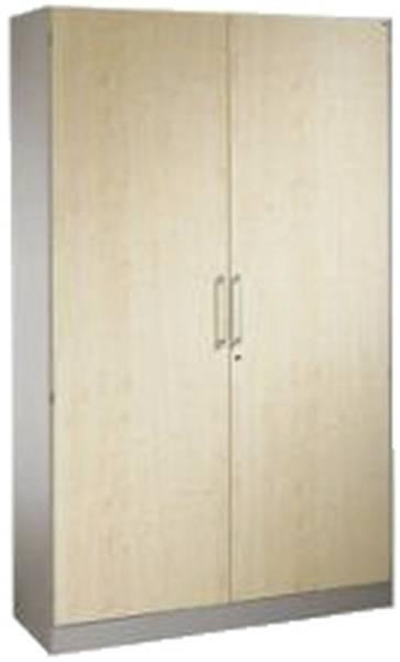 Flügeltürenschrank ASISTO 2 Holzdekortüren und 4 verstellbaren Fachböden ahorn