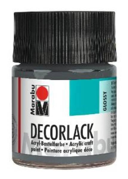 Decorlack Acryl, Grau 078, 50 ml