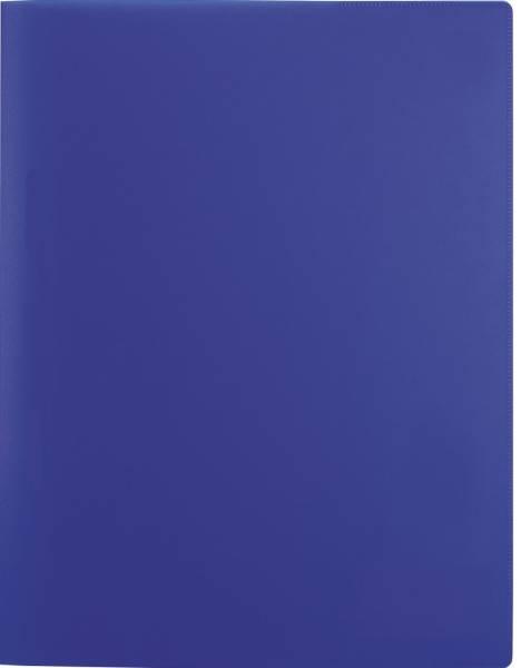 Schnellhefter A4, PP, transluzent dunkelblau