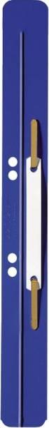 LEITZ Heftstreifen PP 3.5x31cm 25ST blau 3711-00-35 m. Kunststoffdeckleist