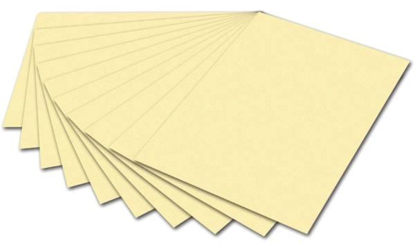 Tonpapier 50 x 70 cm, strohgelb