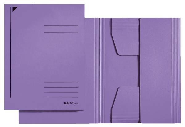 3924 Jurismappe, A4, Colorspankarton 300g, violett