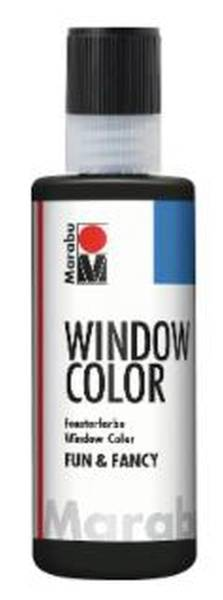 Window Color fun&fancy, Schwarz 173, 80 ml