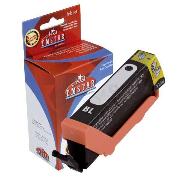 EMSTAR Inkjetpatrone schwarz C139 CLI571BKXL