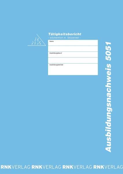 Ausbildungsnachweis Heft Handwerk mit Skizzenteil wöchentlich, 60 Seiten, DIN A4
