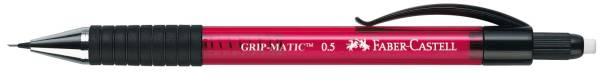 FABER CASTELL Feinminenstift Grip Magic 0,5mm rot 137521 transparent