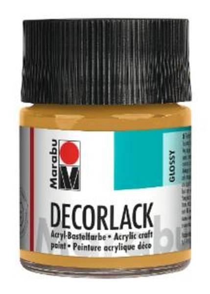 Decorlack Acryl, Metallic Gold 784, 50 ml