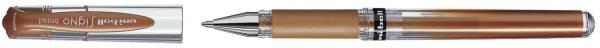 Gelroller uni ball SIGNO UM 153, Schreibfarbe: bronze®