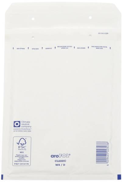 Luftpolstertaschen Nr 4, 180x265 mm, weiß, 100 Stück