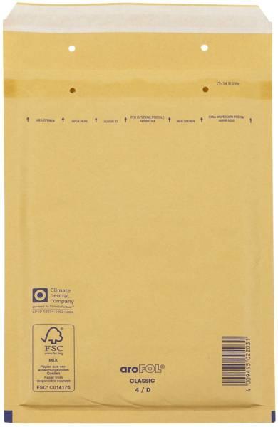 Luftpolstertaschen Nr 4, 180x265 mm, goldgelb braun, 100 Stück
