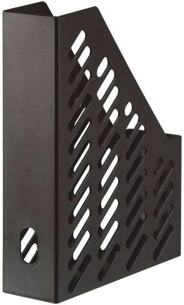 Stehsammler KARMA DIN A4 C4, 100% Recyclingmaterial, öko schwarz