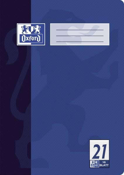 Heft A4 16 Blatt Lineatur 21