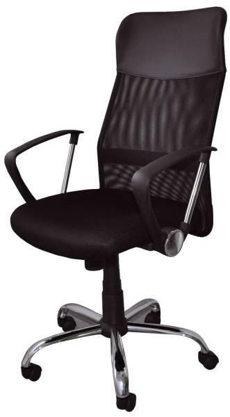 OFFICE PRODUCTS Drehstuhl Korfu mit AL schwarz 23023331-05 Typ TILT