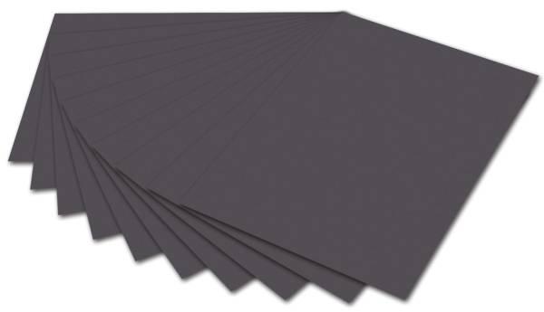 Tonpapier 50 x 70 cm, anthrazit