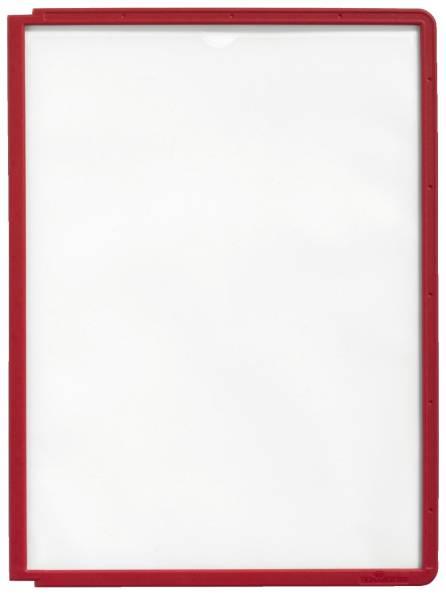 Sichttafel SHERPA PANEL A4, rot®